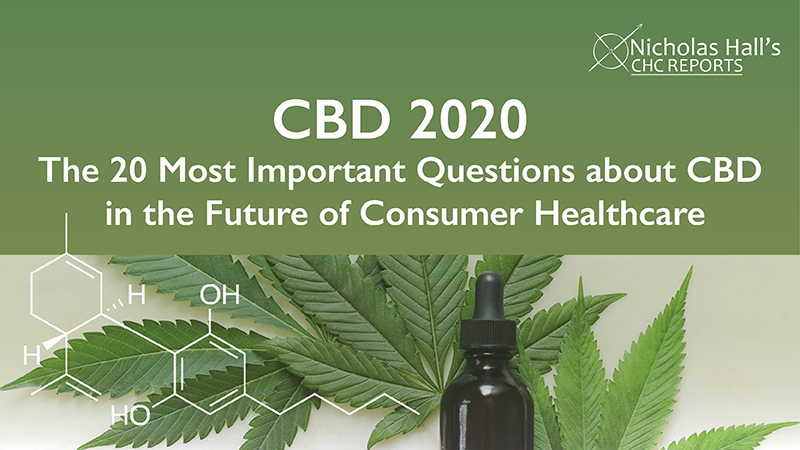 CBD 2020 The 20 Most Important Questions about CBD in the Future of CHC
